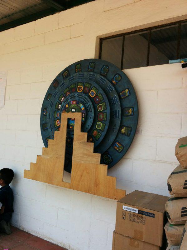 Maya calendar replica