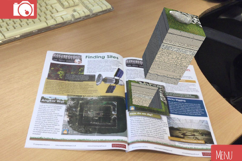 Decode History from the ground up with augmented reality