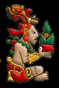 Maya Maize God