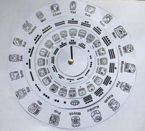 Maya Calendar KS2 template