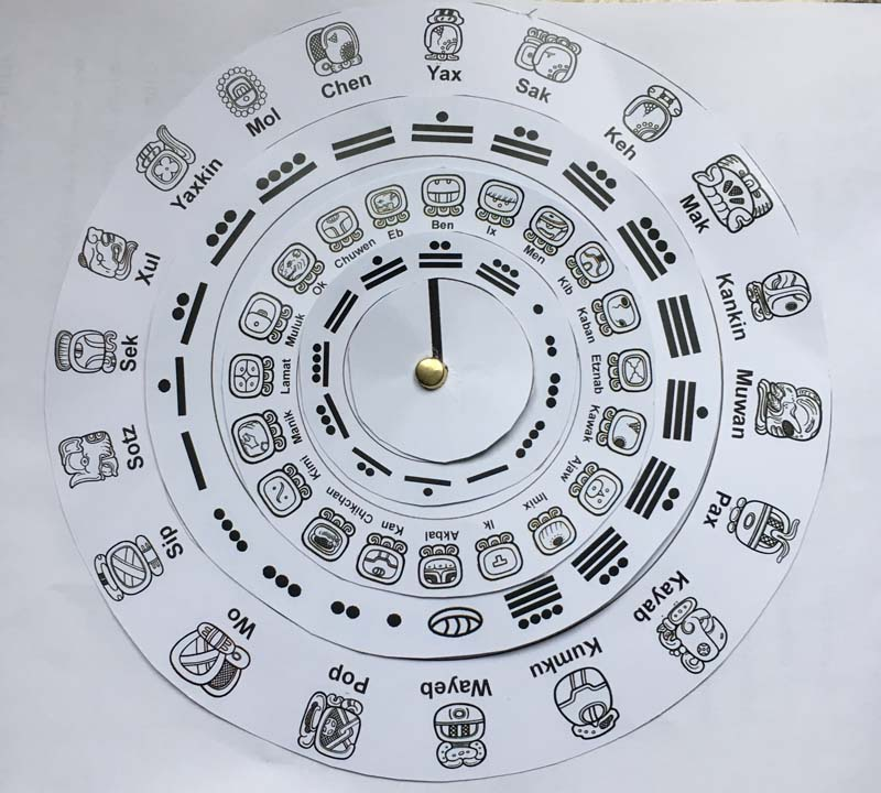 Make Your Own Maya Calendar Ks2 Maya Archaeologist