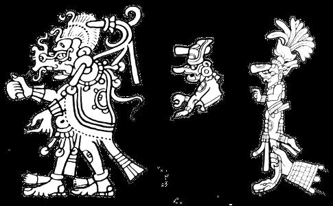 Kawiil - Maya god of thunder
