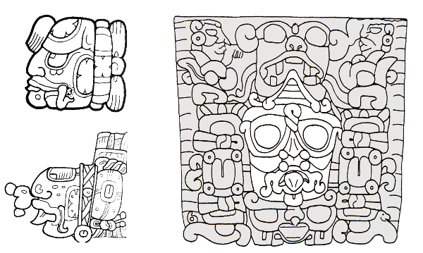 Maya Sun God - Kinich Ajaw