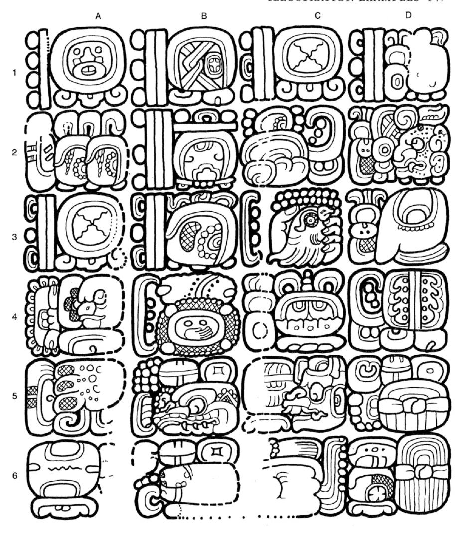 Line Art Ks2 : The maya calendar explained ks archaeologist