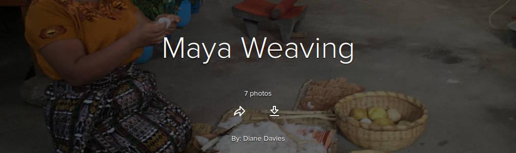 Maya-weaving
