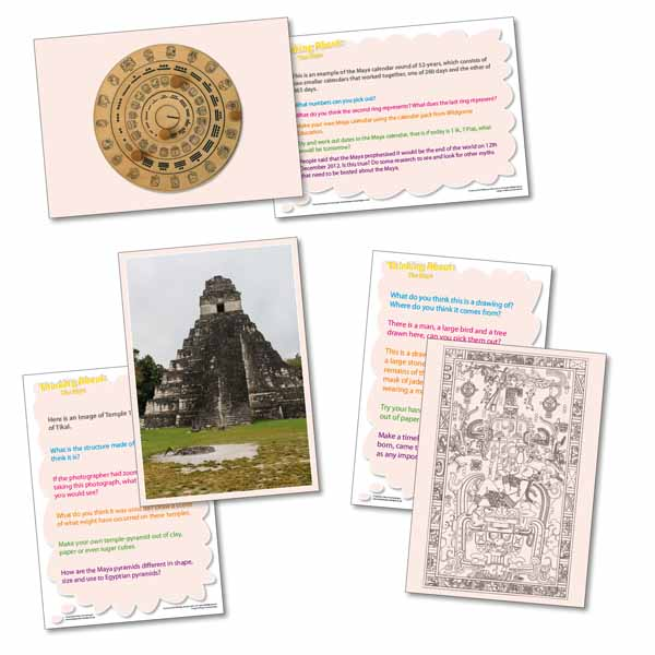Maya Fact Cards - History KS2